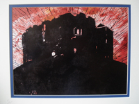 Cliffords Tower York - 2008 limited print 14 x 11 inches