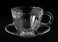 cup - black and white photo 2007