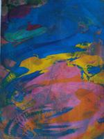 Relax #4 - silk screen print 2010