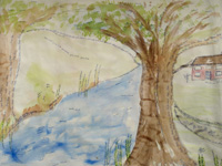 Eden - 2009 - Watercolour, ink on paper