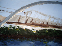 Bridge 2008 oil on canvas