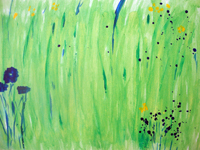 Green Meadow 2008 watercolour