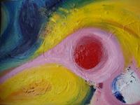 Joy 2008 oil on canvas