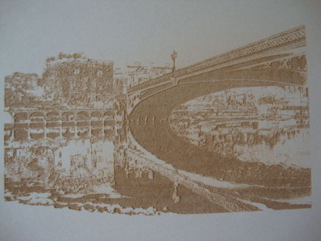 details that a normal photo may not show are more visible with laser etching