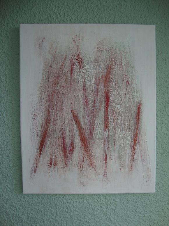 Paper-mache image hanging